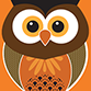 Icon of an owl representing the graphic design services by am:pm graphics
