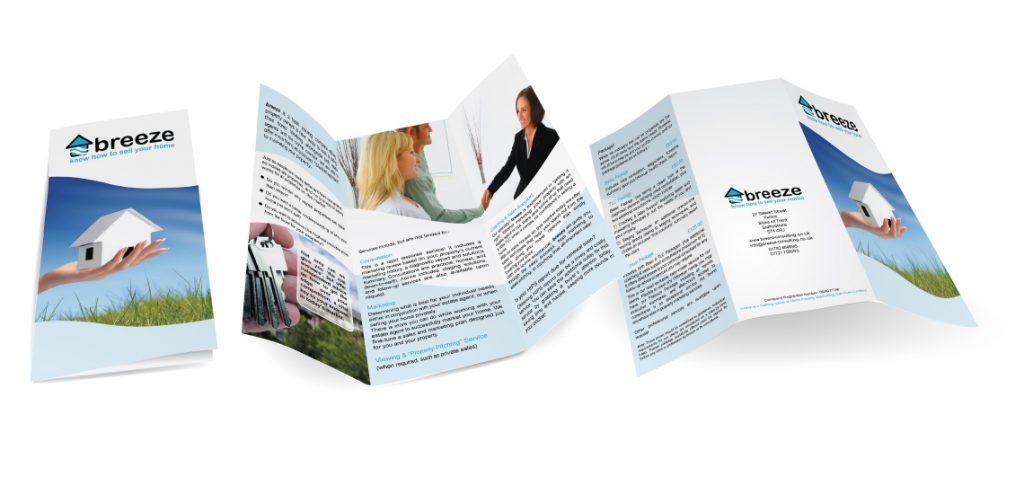 DL Folded leaflet for Breeze