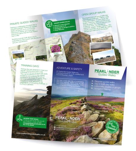 Folded DL leaflet