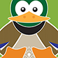 Illustration of a duck representing website design services by am:pm g